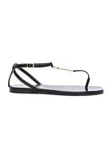 Saint Laurent Leather Nu Pieds Sandals