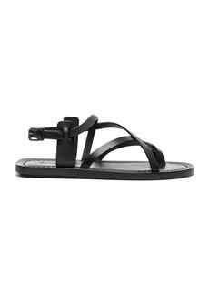 Saint Laurent Leather Nu Pieds Strappy Sandals
