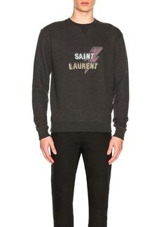 Yves Saint Laurent Saint Laurent Lightening Sweatshirt