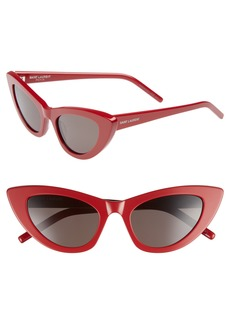 Yves Saint Laurent Saint Laurent Lily 52mm Cat Eye Sunglasses