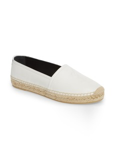 Yves Saint Laurent Saint Laurent Logo Espadrille Flat (Women)