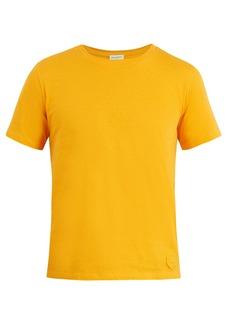 Yves Saint Laurent Saint Laurent Logo-patch cotton T-shirt