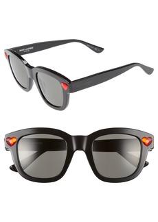 Saint Laurent Lolita 48mm Retro Sunglasses