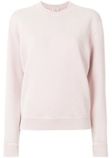 Yves Saint Laurent long-sleeve fitted sweater