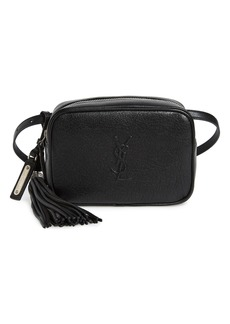 Saint Laurent Loulou Tassel Leather Belt Bag