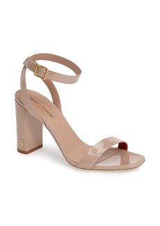 Saint Laurent Loulou Ankle Strap Sandal (Women)