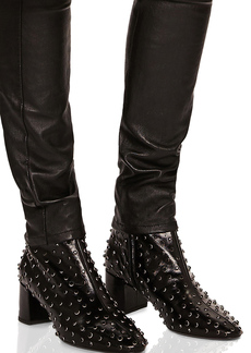 Saint Laurent Loulou Studded Leather Ankle Boots