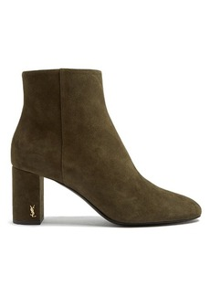 Saint Laurent Loulou suede ankle boots
