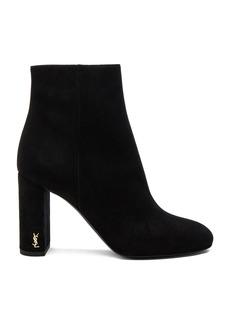 Saint Laurent Loulou Suede Boots