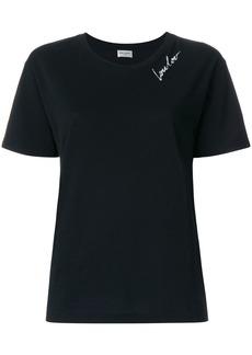 Yves Saint Laurent Saint Laurent LouLou T-shirt - Black