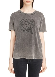 Saint Laurent Love Logo Tee