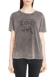 Yves Saint Laurent Saint Laurent Love Logo Tee