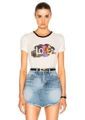 Saint Laurent Love Print Tee