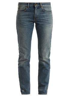 Yves Saint Laurent Saint Laurent Low-rise straight-leg boyfriend jeans