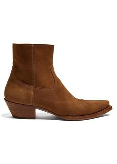 Yves Saint Laurent Saint Laurent Lukas suede ankle boots