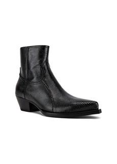 Yves Saint Laurent Saint Laurent Lukas Zipped Lizard Boot