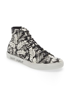 Yves Saint Laurent Saint Laurent Malibu High Top Sneaker (Men)