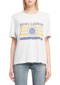 Saint Laurent Mariner Graphic Tee