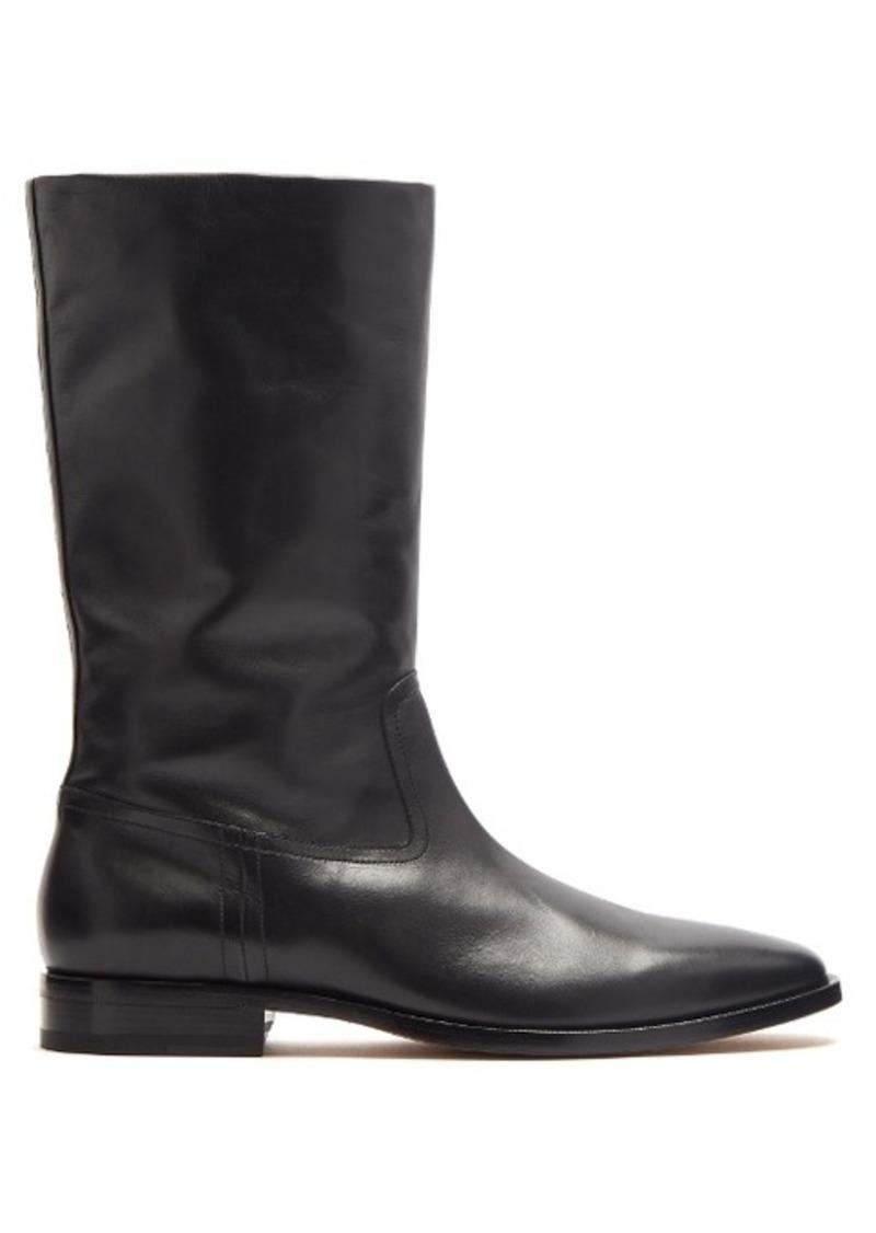 0027eabc99 Saint Laurent Matt 25 leather boots