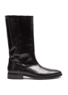 Saint Laurent Matt leather boots