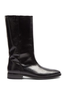 Yves Saint Laurent Saint Laurent Matt leather boots