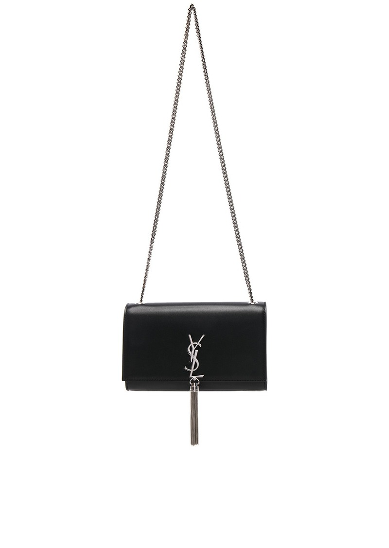 Saint Laurent Saint Laurent Medium Monogramme Kate Tassel Chain Bag ... 83a5a61a9ac44