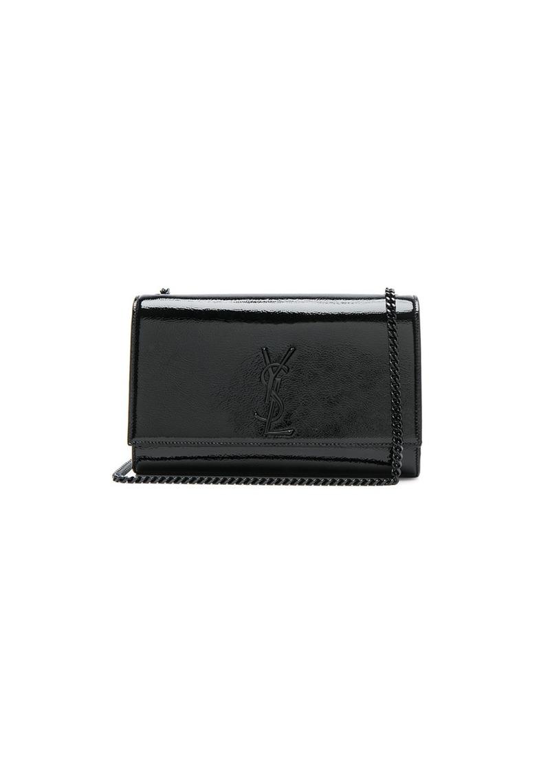 ... Saint Laurent Medium Patent Monogramme Kate Chain Bag online store  10713 a0185 ... 3e96d913d5