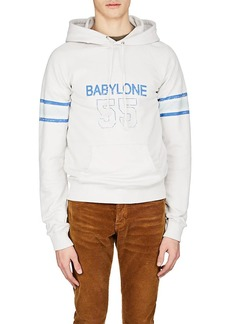 Yves Saint Laurent Saint Laurent Men's Babylone Cotton Hoodie
