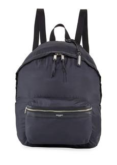 d1b20547 Yves Saint Laurent Saint Laurent Men's City Belt Bag/Fold-Up Backpack