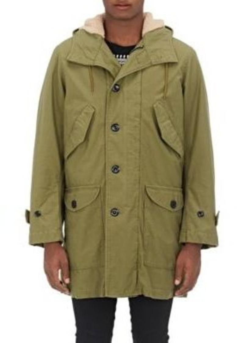 Yves Saint Laurent Saint Laurent Men's Cotton-Blend Hooded Parka