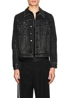 Yves Saint Laurent Saint Laurent Men's Cotton Denim Trucker Jacket