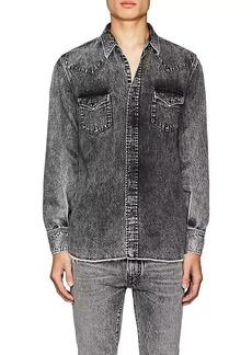 Yves Saint Laurent Saint Laurent Men's Denim Western Shirt