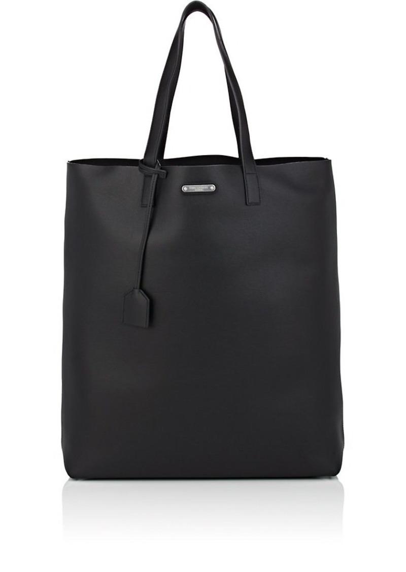 choose genuine unbeatable price attractive price Saint Laurent Men's Leather Shopping Tote Bag - Black