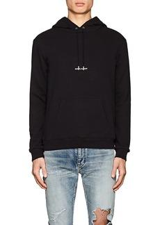 Yves Saint Laurent Saint Laurent Men's Logo Cotton Oversized Hoodie