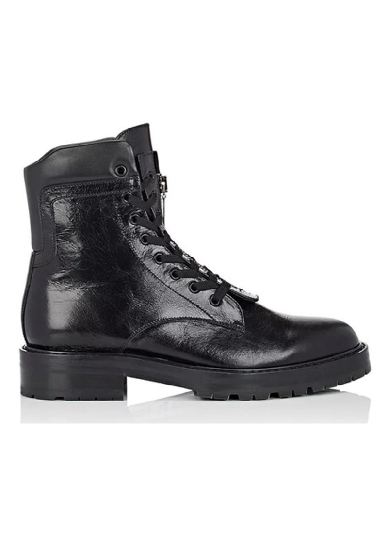 7b6d596272 Saint Laurent Men's William Leather Double Lace-Up Boots