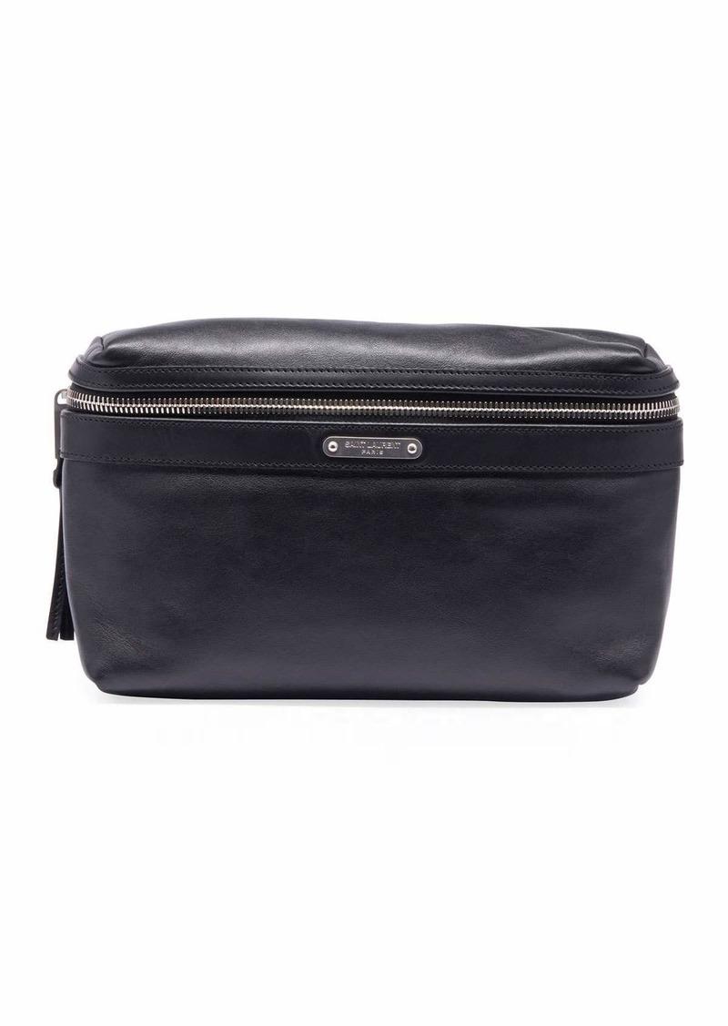 66d1b9d2 Saint Laurent Men's YSL Marsupio Leather Belt Bag