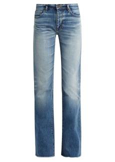Yves Saint Laurent Saint Laurent Mid-rise flared jeans