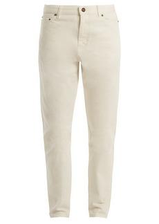 Saint Laurent Mid-rise straight-leg boyfriend jeans