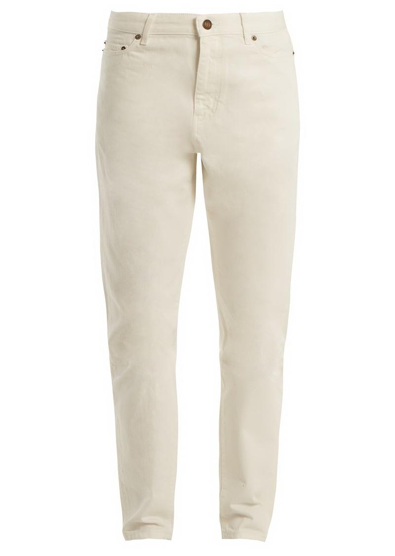 comfortable feel most popular uk store Mid-rise straight-leg boyfriend jeans
