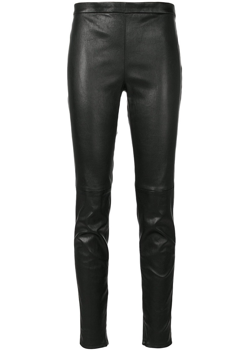Saint Laurent mid-waist fitted leggings
