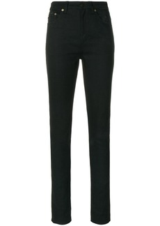 Saint Laurent mid waist tight slim fit jeans