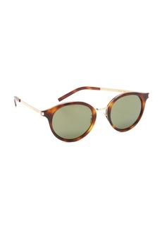 Yves Saint Laurent Saint Laurent Mineral Glass Sunglasses