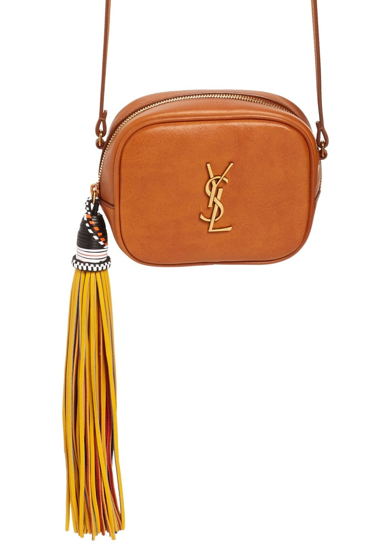Saint Laurent Saint Laurent Monogram Blogger Calfskin Crossbody Bag ... 365a1f481efc3
