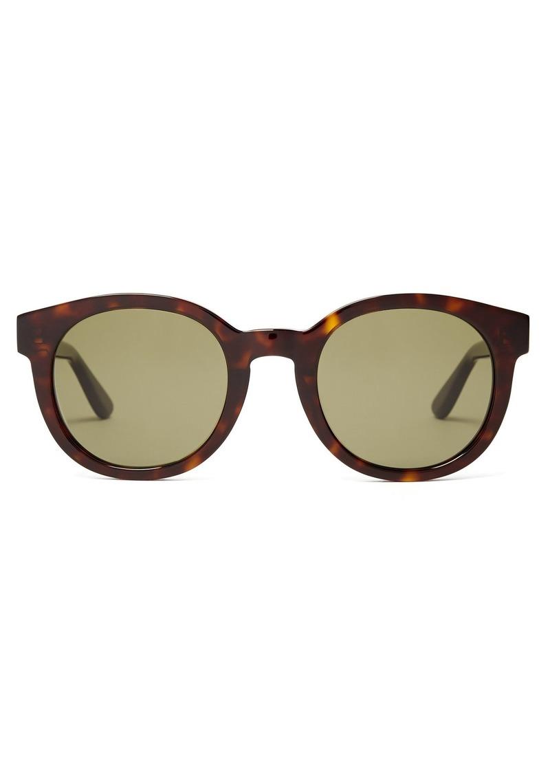 Gafas sol de con Saint Laurent monograma de redondas 77r6TRP 8aaa3bd0cfc4