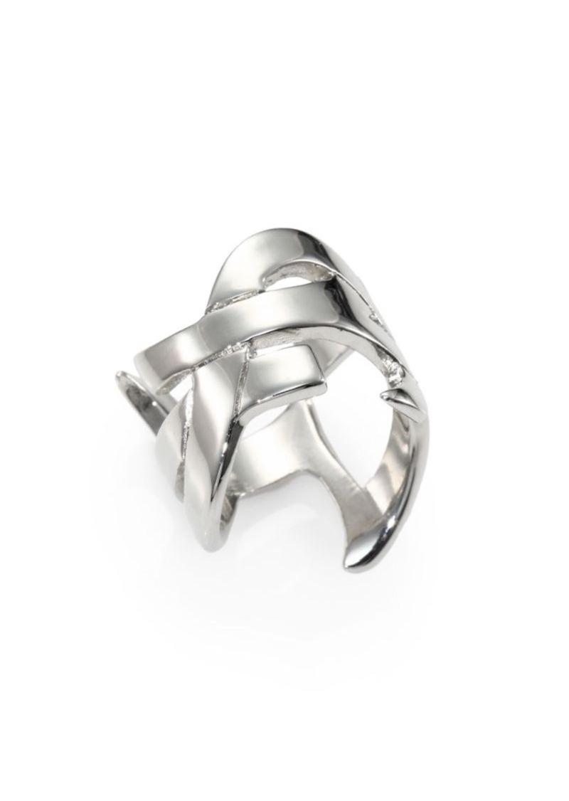 b9fcd6da0b Monogram Signature Ring/Silvertone