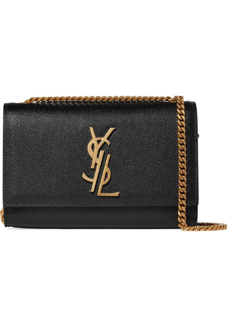 9b02c595e559 Saint Laurent Saint Laurent Monogramme Kate small textured-leather ...