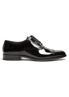 Yves Saint Laurent Saint Laurent Montaigne patent-leather derby shoes