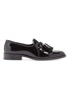 Saint Laurent Montaigne patent-leather loafers