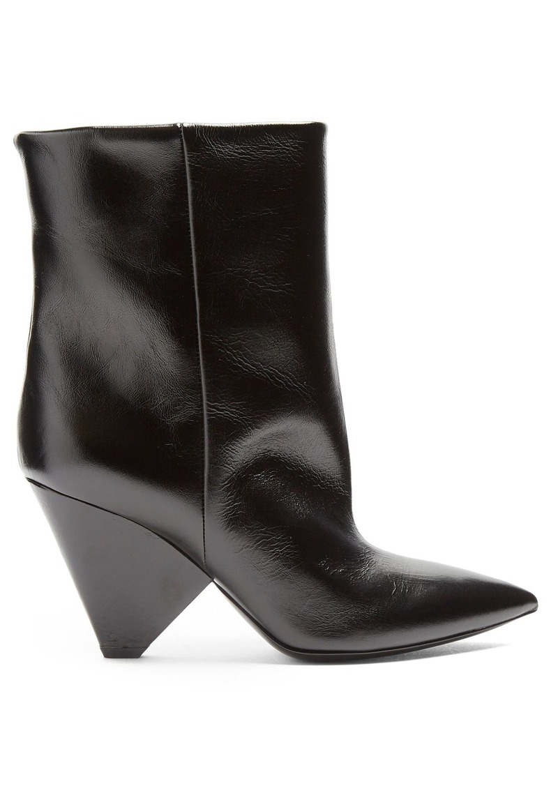 2dbd858bc51 Niki leather ankle boots