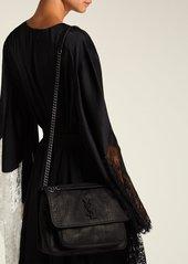 b5dc88bb6a9 ... Saint Laurent Niki medium crocodile-effect leather shoulder bag ...